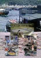 Cover image for Urban aquaculture