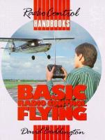 Cover image for Basic radio control flying
