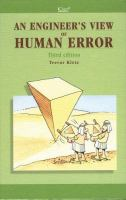 Cover image for An engineer's view of human error
