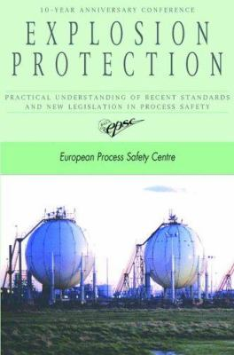 Cover image for Explosion protection : practical understanding of recent standards and new legislation in process safety : proceedings of the European Process Safety Centre conference : 13 November, 2002, DECHEMA, Frankfurt, Germany