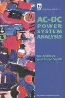 Cover image for AC-DC power system analysis