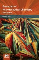 Cover image for Essentials of pharmaceutical chemistry
