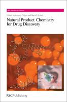 Cover image for Natural product chemistry for drug discovery
