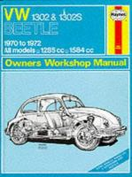 Cover image for VM Super Beetle 1970 to 1972 owners workshop manual