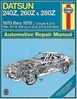 Cover image for Datsun 240Z/260Z owners workshop manual