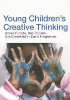 Cover image for Young children's creative thinking