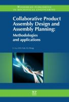 Cover image for Collaborative product assembly design and assembly planning : methodologies and applications