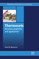 Cover image for Thermosets : structure, properties and applications