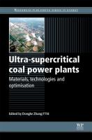 Cover image for Ultra-supercritical coal power plants : materials, technologies and optimisation