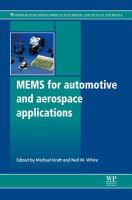 Cover image for MEMS for automotive and aerospace applications