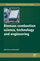 Cover image for Biomass combustion science, technology and engineering
