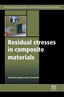 Cover image for Residual stresses in composite materials