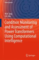 Cover image for Condition monitoring and assessment of power transformers using computational intelligence