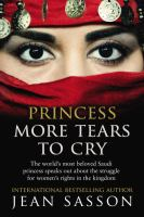 Cover image for Princess : more tears to cry