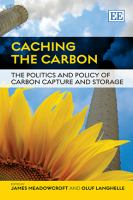 Cover image for Caching the carbon : the politics and policy of carbon capture and storage