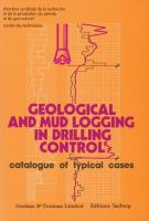 Cover image for GEOLOGICAL and mud logging in drilling control : catalogue of typical cases