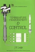 Cover image for Temperature measurement and control