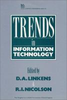 Cover image for Trends in information technology