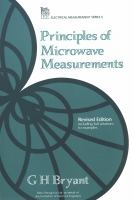 Cover image for Principles of microwave measurements