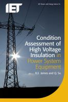 Cover image for Condition assessment of high voltage insulation in power system equipment