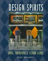 Cover image for Design spirits : bars, brewpubs, & techno clubs