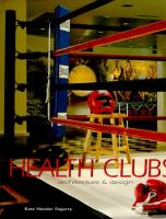 Cover image for Health clubs: architecture and design