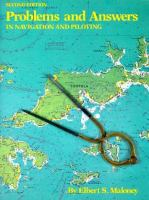 Cover image for Problems and answers in navigation and piloting