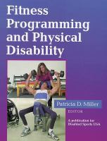 Cover image for Fitness programming and physical disability