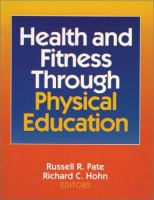 Cover image for Health and fitness through physical education