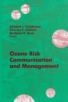 Cover image for Ozone risk communication and management