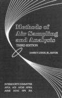 Cover image for Methods of air sampling and analysis