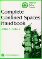 Cover image for Complete confined spaces handbook