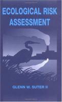 Cover image for Ecological risk assessment