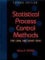 Cover image for Statistical process control methods for long and short runs