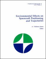 Cover image for Environmental effects on spacecraft positioning and trajectories