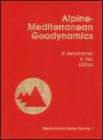 Cover image for Alpine-Mediterranean geodynamics