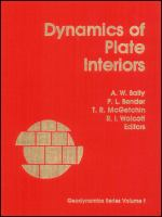Cover image for Dynamics of plate interiors