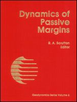 Cover image for Dynamics of passive margins