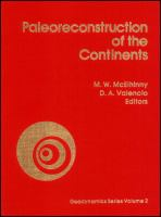 Cover image for Paleoreconstruction of the continents