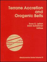 Cover image for Terrane accretion and orogenic belts