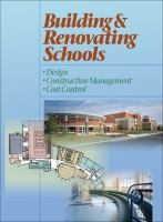 Cover image for Building and renovating schools : design, construction management, cost control