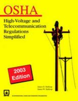 Cover image for OSHA : Stallcup's high-voltage and telecommunications regulations simplified
