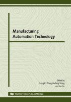 Cover image for Manufacturing automation technology