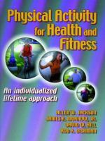 Cover image for Physical activity for health and fitness