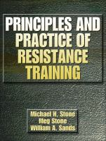 Cover image for Principles and practice of resistance training