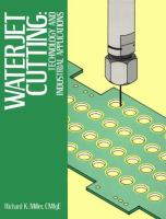 Cover image for Waterjet cutting : technology and industrial applications