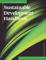 Cover image for Sustainable development handbook