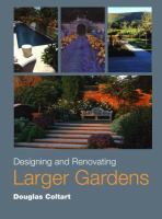 Cover image for Designing and renovating larger gardens
