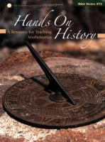 Cover image for Hands on history : a resource for teaching mathematics