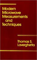 Cover image for Microwave measurements and techniques